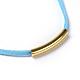 Adjustable Faux Suede Cord NecklacesNJEW-JN02353-04-2
