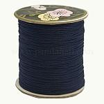 ナイロン糸, カスタム織りジュエリー作りのために, ミッドナイトブルー, 0.8ミリメートル、約120 M /ロール