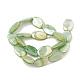 Brins de perles de coquille d'eau douce de couleur abX-SHEL-T009-04C-2