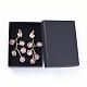 Acrylic Dangle Stud Earring SetsEJEW-JE04155-4