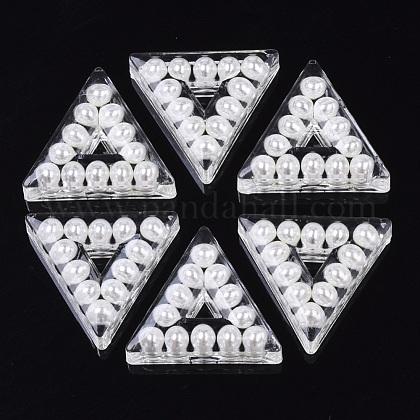 Transparent Acrylic BeadsTACR-R146-024-1