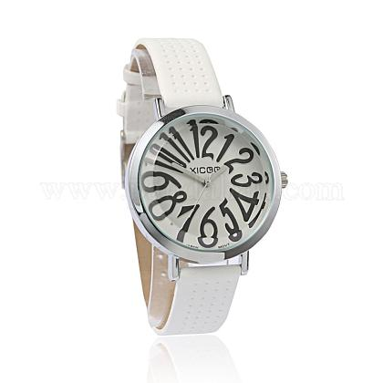High Quality Imitation Leather Wristwatch Quartz WatchesX-WACH-I014-F02-1