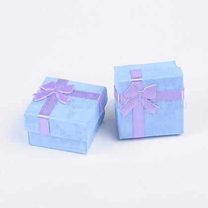 Boîtes à bagues en cartonX-CBOX-G003-08C-1