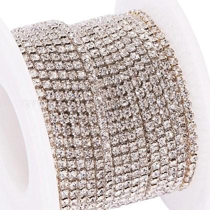Cadenas de strass Diamante de imitación de bronceCHC-T001-SS6-01S-1