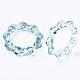 Anillos de dedo de acrílico transparenteRJEW-T010-04B-4