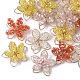 Colgantes hechos a mano de vidrio envuelto en alambreFIND-N050-02