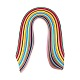 Rectangle 36 Colors Quilling Paper Strips Sets DIY-PH0008-03-4