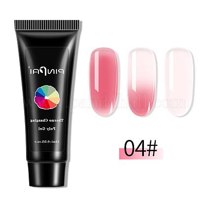 Быстрый наращивание ногтей уф-гель (цвет будет меняться в зависимости от температуры)MRMJ-Q034-035D-1