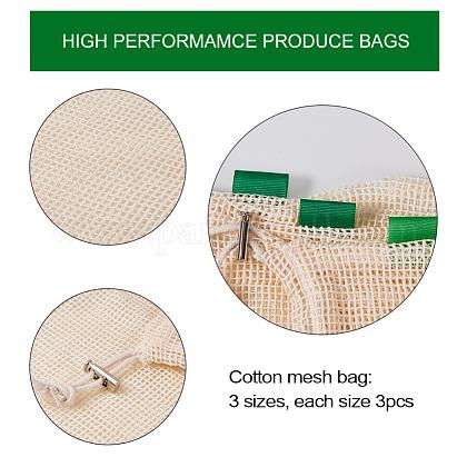 キャンバス包装袋とオーガニックコットン包装袋ABAG-PH0002-34-1