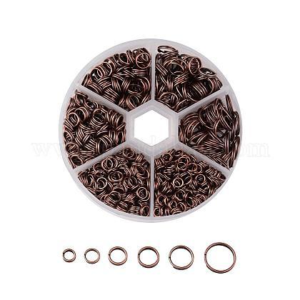 1 caja de anillos partidos de hierro.IFIN-JP0013-R-NF-1