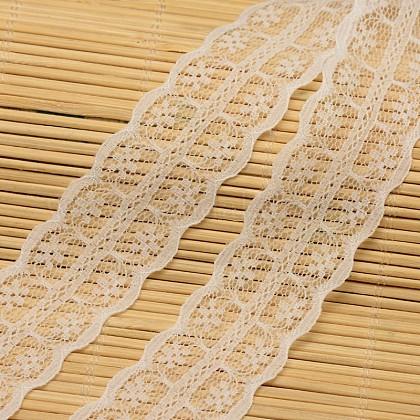 Кружева отделка нейлон ленты для изготовления ювелирных изделийORIB-F001-33-1