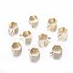 Hexagonaux liens laiton de suspensionKK-N0095-01-1