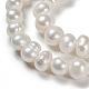 Grado de perlas de agua dulce cultivadas naturalesPEAR-D025-1-2