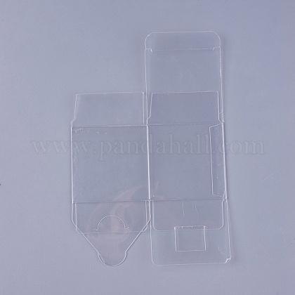 Transparent Plastic PVC Box Gift PackagingX-CON-WH0060-01B-1