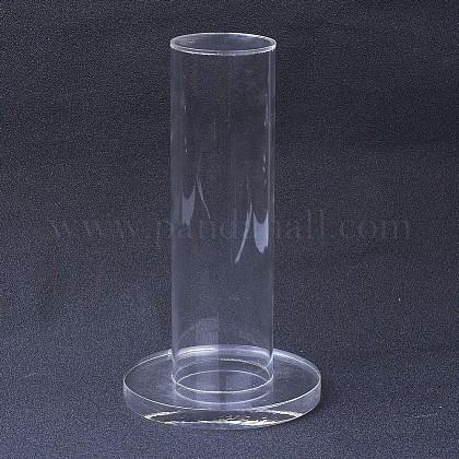 有機ガラス垂直タワージュエリーブレスレットディスプレイスタンドBDIS-G005-02-1