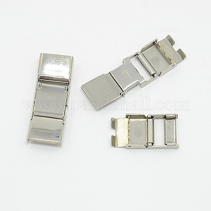 304 Stainless Steel Watch Band ClaspsX-EH055-1