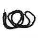 Chapelets de perles en verre transparentGLAA-S031-6mm-38-3