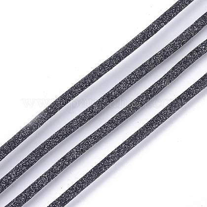Cordones de cuero de PULC-S018-03A-1