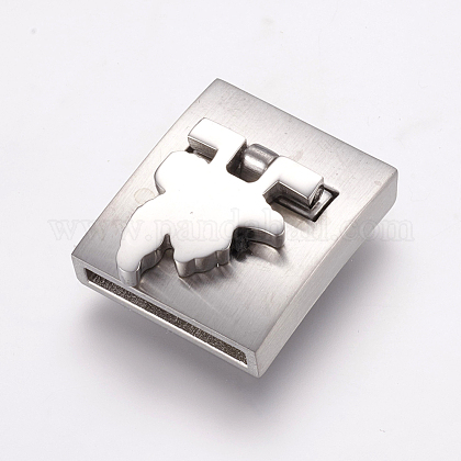 304 Stainless Steel Magnetic ClaspsSTAS-E144-171P-1