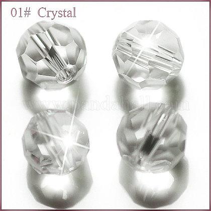Imitation Austrian Crystal BeadsSWAR-F021-8mm-001-1
