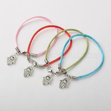Nylon Thread Bracelet MakingBJEW-JB01342-1