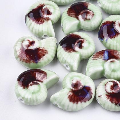 Handmade Porcelain BeadsX-PORC-S498-32E-1