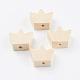 Cuentas de madera sin terminarWOOD-Q030-64-1