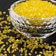 11/0 de dos abalorios de la semilla de cristal talladoCSDB170-1