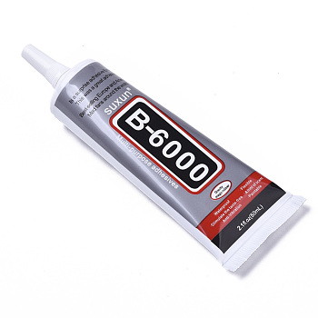 B-6000接着剤, 針付き, グレー, 14.1x4.7x2.95cm; 50ml / pc