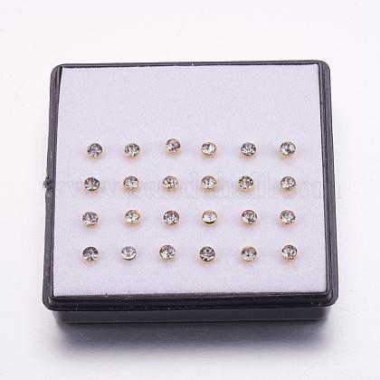 316l acero inoxidable joyería de piercing en la narizAJEW-P063-03-3mm-1