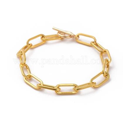 Pulseras de cadena con clip de hierro sin soldarBJEW-JB05044-01-1
