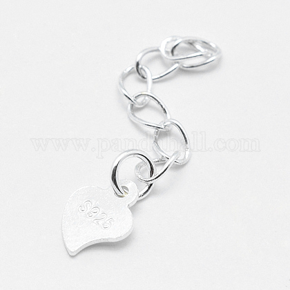 925 Sterling Silver Extender ChainsSTER-F032-10S-1
