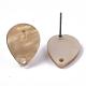 Fornituras de pendiente de botón de acetato de celulosa (resina)KY-R022-026-4