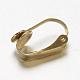 304 Stainless Steel Clip-on Earring FindingsSTAS-G130-20G-2