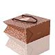 Bolsas de papel rosa impresas rectangularesCARB-F001-07A-3