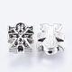 Tibetan Style Bead Rhinestone SettingsAB4983Y-2