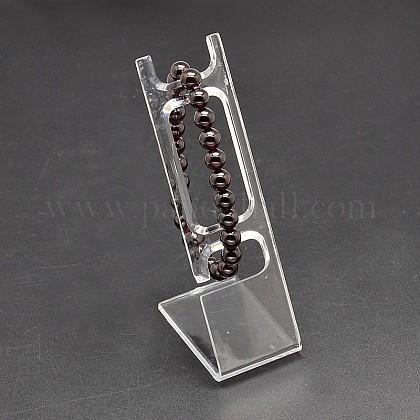 有機ガラスのジュエリーのブレスレットのディスプレイを矩形BDIS-L001-05-1