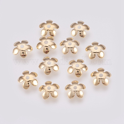 Brass Bead CapsX-KK-S316-39G-1