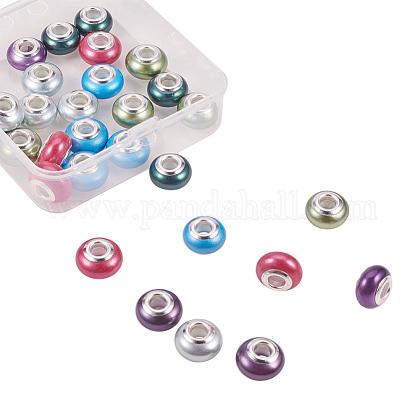 Perlas de concha hechas a mano perlas europeasBSHE-NB0001-02-1