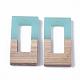 Colgantes de resina y madera de nogalRESI-S358-26A-2