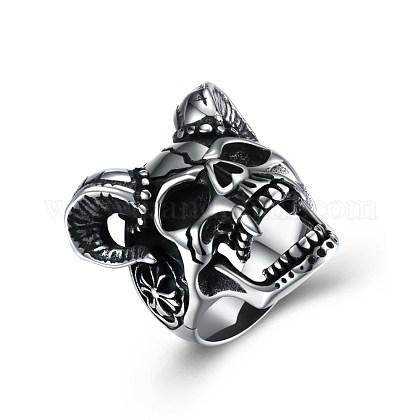 Men's Stainless Steel Finger RingsRJEW-BB29863-8-1