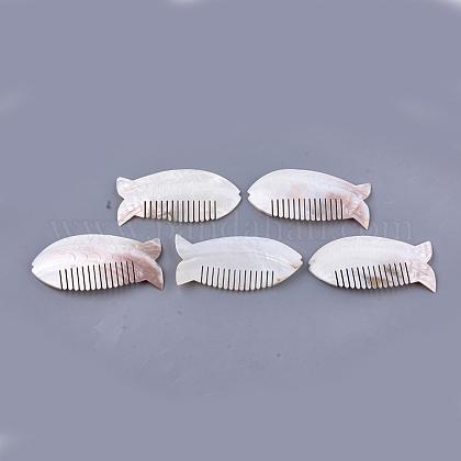 Peines de concha de agua dulceSSHEL-S258-65-1