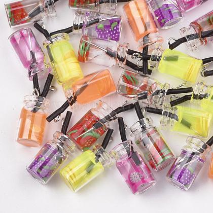 Colgantes de botellas de vidrioX-CRES-N017-06-1