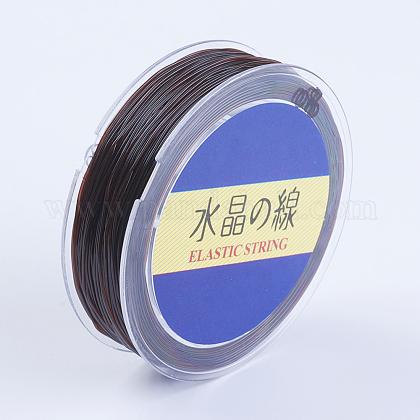 Japanese Round Elastic Crystal StringEW-G007-01-0.8mm-1