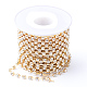 Cadenas de strass Diamante de imitación de bronceCHC-T002-SS16-01C-1