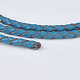 Braided Leather Cords WL-P002-17-A-3