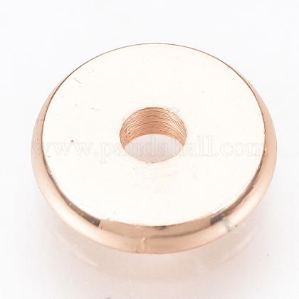 Brass Spacer BeadsKK-Q738-6mm-04RG-1