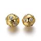 Perlas naturales abalorios de agua dulce cultivadasPEAR-F011-59G-2