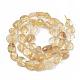 Natural Citrine Beads StrandsX-G-S363-008A-2