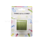 3x1.5mm Flat Faux Suede Cord, Faux Suede Lace, PaleGreen, about 5m/roll